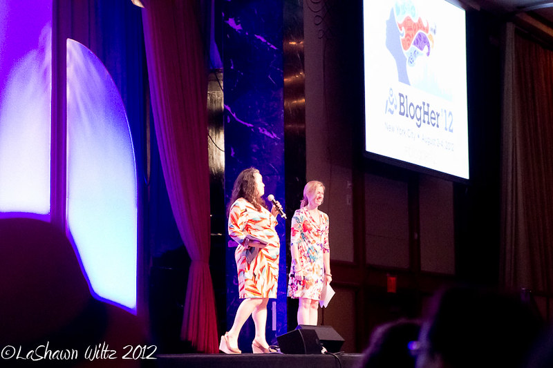 blogher12 opening