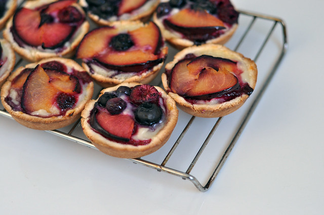 little fruit tartlets