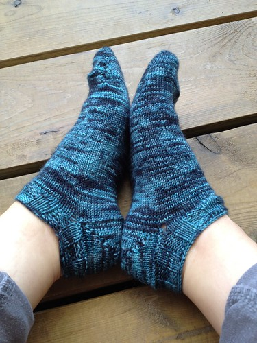 My first pair of socks, again
