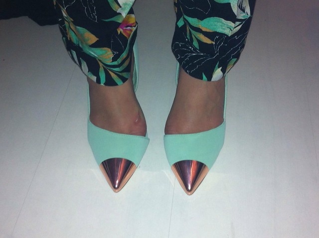 Nelly shoes mint green
