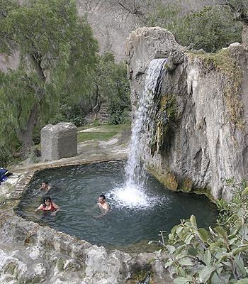aguas termales en Ourense