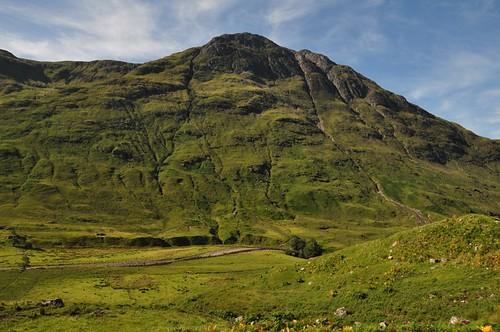 Carnan Cruithneachd from Glen Elchaig