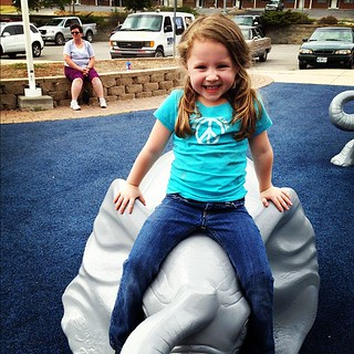 Emmy and elephants! #penguinpark