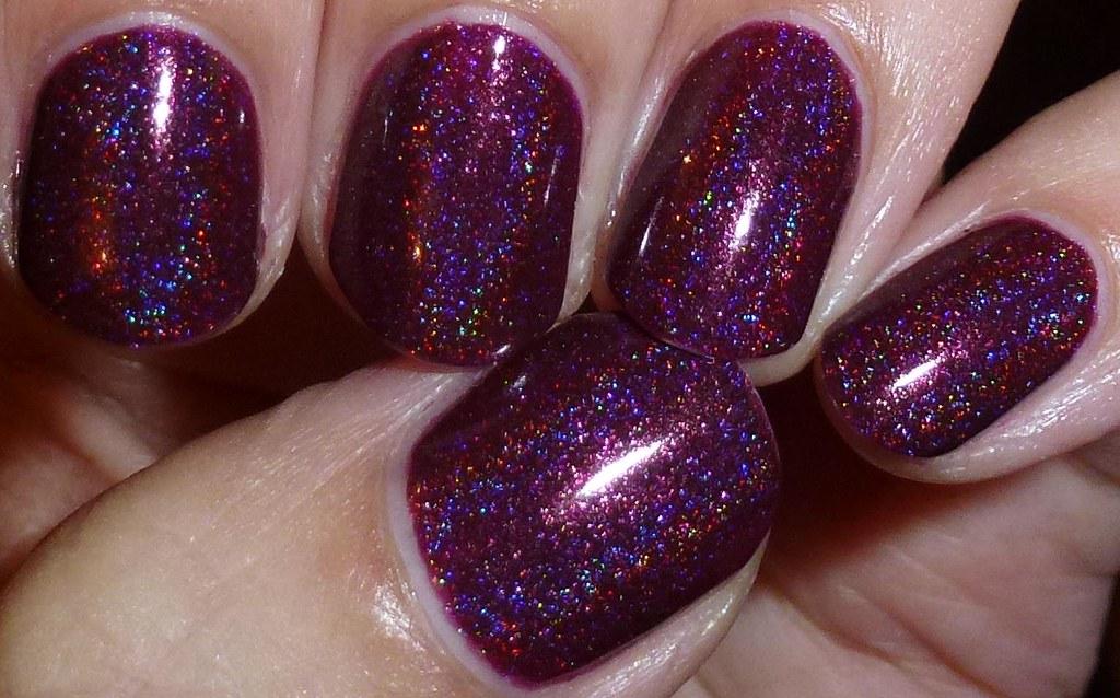 Enkelini Mahogany Row Linear Holographic Nail Polish With Flickr