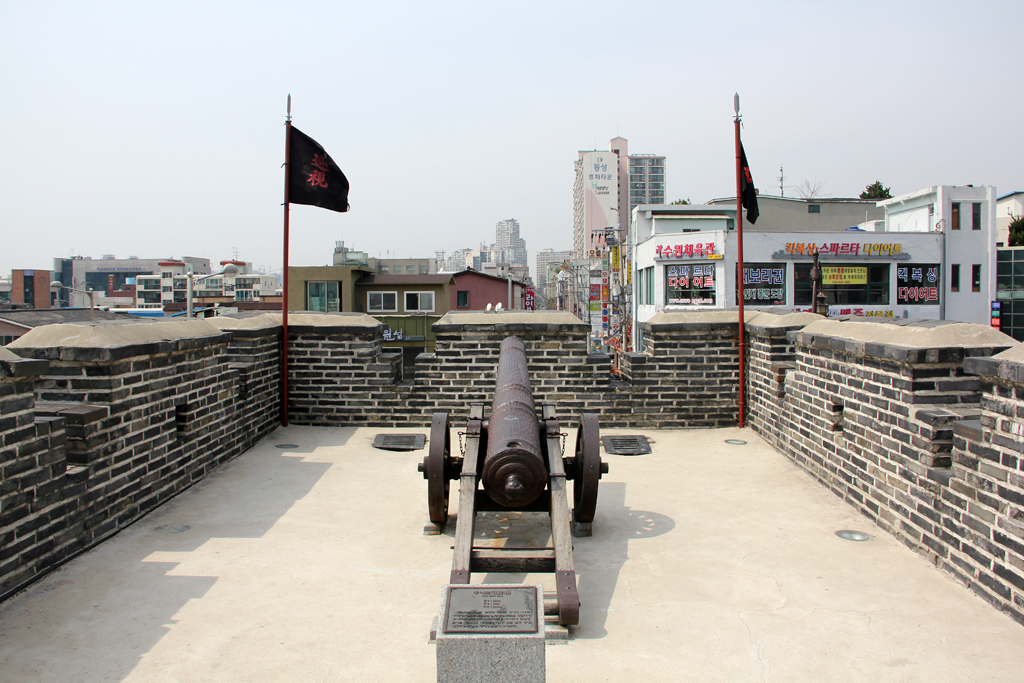 Canon at Hwaseong Fortress