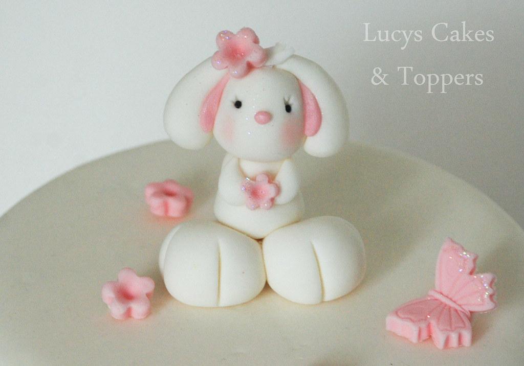 Bunny Cake Topper Uk