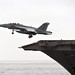 F-18F Super Hornet takes off from USS Enterprise