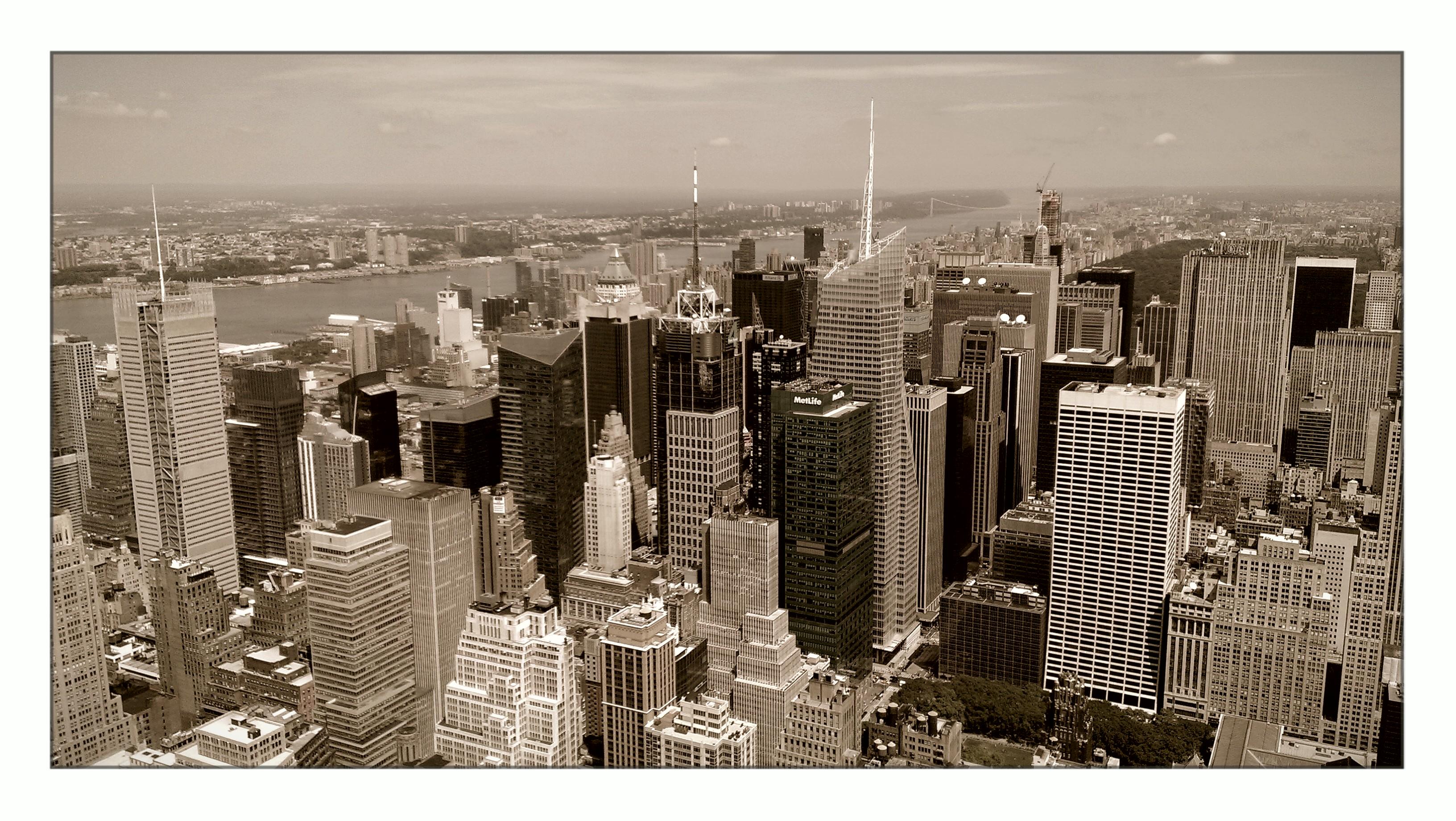 Elevation Of Manhattan New York Ny Usa Topographic