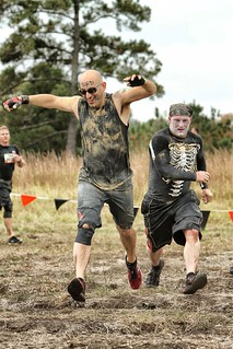 Me, Running the Tough Mudder