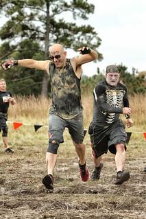 Me, Running the Tough Mudder
