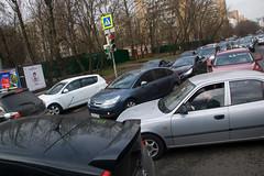La circulation à Moscou ^^