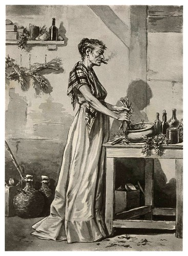 016- La vieja curandera-Tipos y costumbres de la isla de Cuba…1881-Victor P. Landaluze