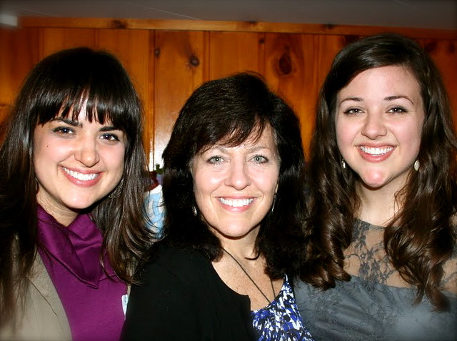 Me, Mom and Kristin