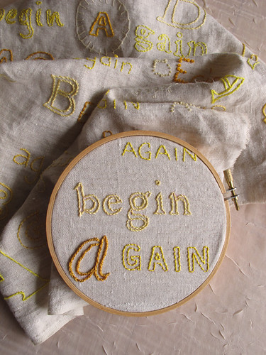 Begin Again, Day 55