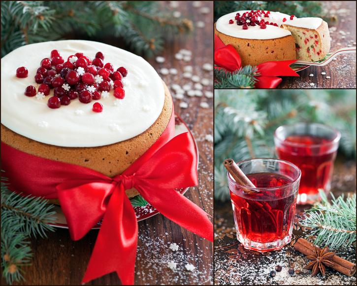 Cranberry Pistachio Cake