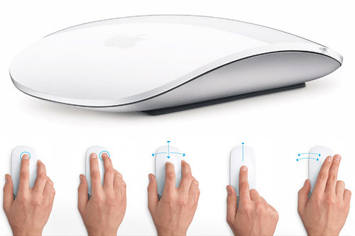 Magic Mouse: Mouse Inalambrico y Multi-Touch de Apple