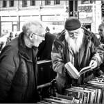 Wise man buys big book