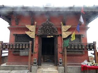 Image of Swayambhunath near Kathmandu.
