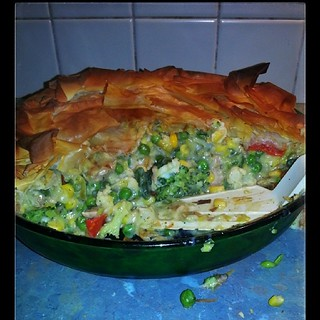Chicken and Vege Pie
