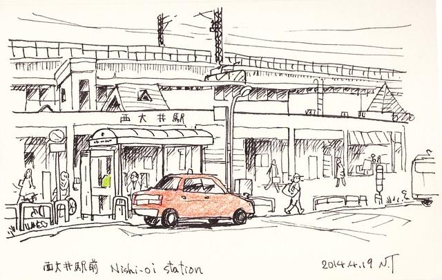 西大井駅前 -2