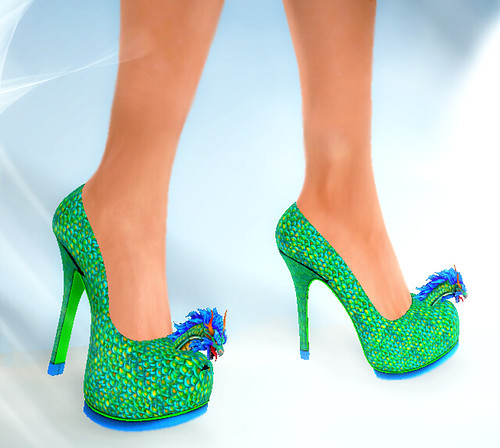 In-Pose - Dragon Heels Shoes