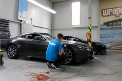 Paint protection film Aston Martin Vantage S