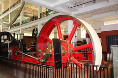 London. Science Museum, Soho & Canary Wharf