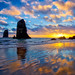 Sunset at The Needles by Jim Nix / Nomadic Pursuits