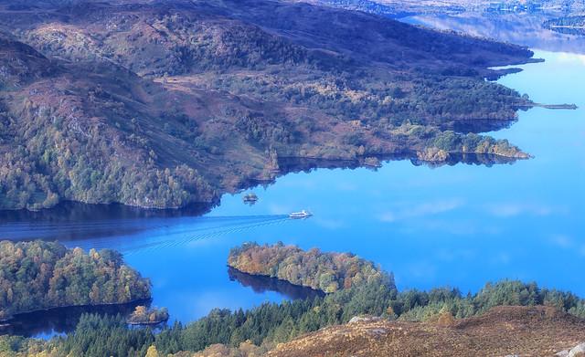 Cruising Loch Katrine