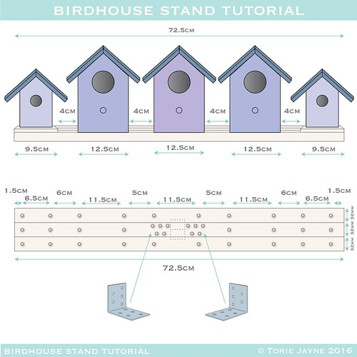 birdhouse stand plans - 3-01