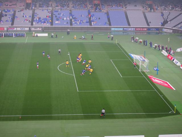 横浜Fマリノス vs. ベガルタ仙台を観に行ってきました