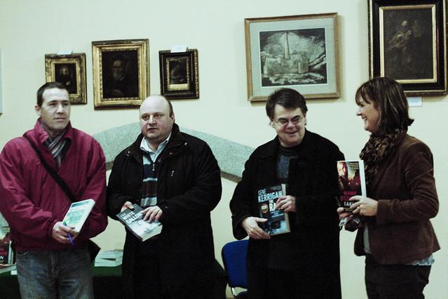 Portraits of Irish Crime Writers
