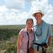 Dan & Audrey at the top of Coba Pyramid - Yucatan, Mexico