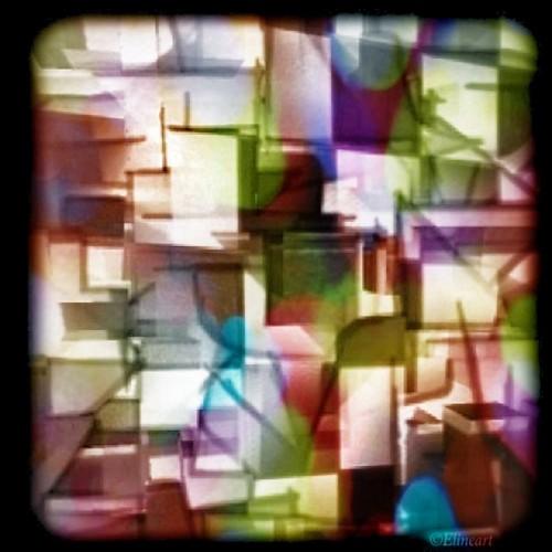 291/365- Cubist cubes by elineart