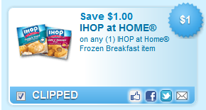 Ihop At Home Frozen Breakfast Item  Coupon