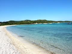 La longue plage de Piantarella