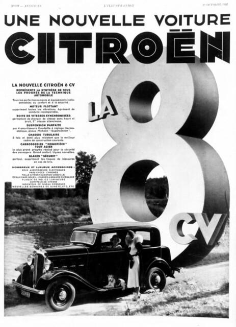 1932 Citroën 8CV Rosalie