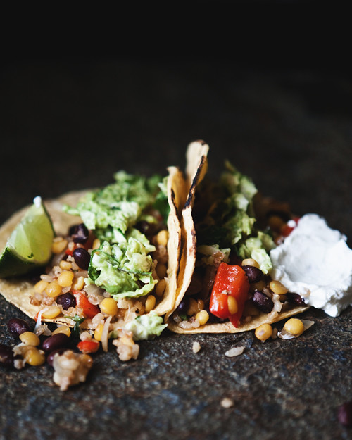 blackbean lentil bulgur tacos copy