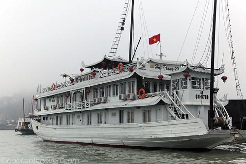 Our junk!  Oriental Sails