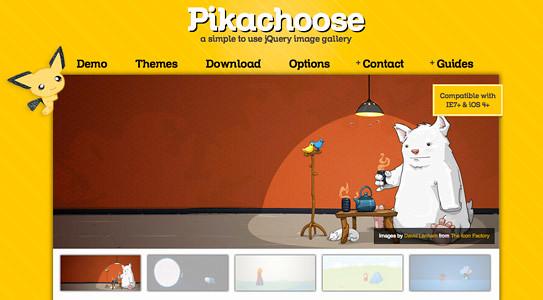 PikaChoose jQuery Image Gallery