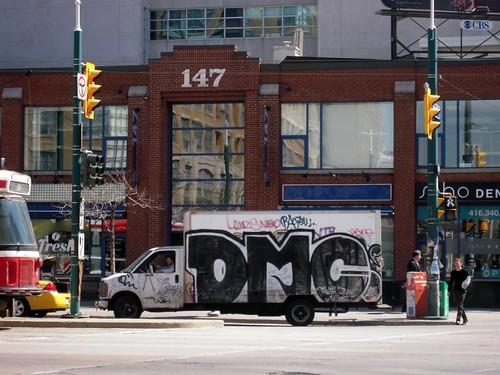 DMC bombed truck