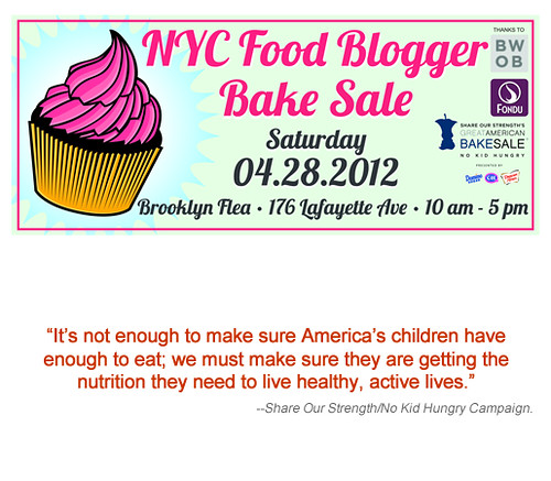 NYC Food Blogger Bake Sale