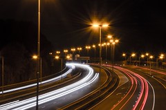 Highway night by Goodtime NL, on Flickr