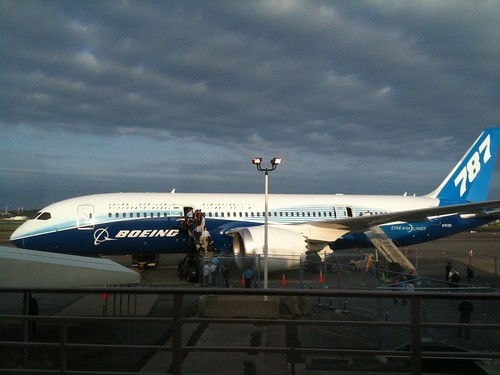 Boeing 787 Dreamliner at DCA