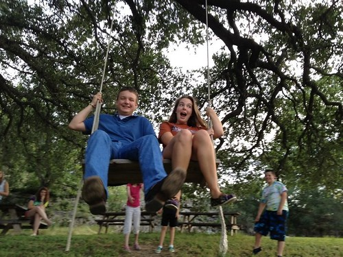 Swinging with Nick
