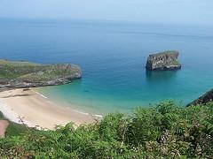 Playa de Andrín.Llanes