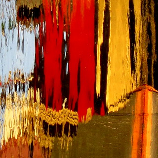 Another reflected abstract