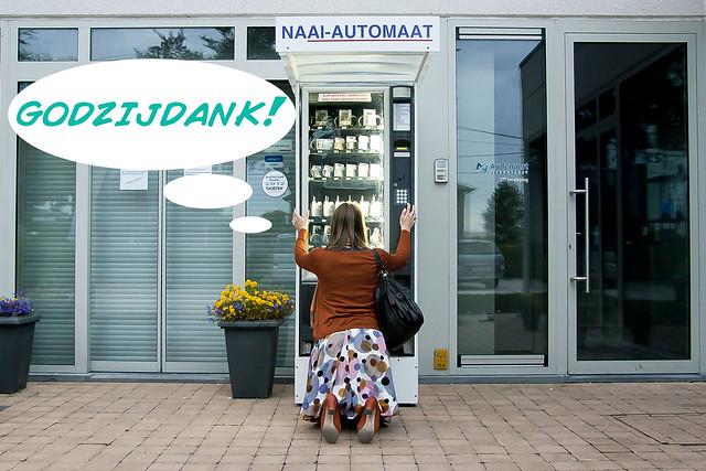 Natuurlijk, de naaiautomaat! 5