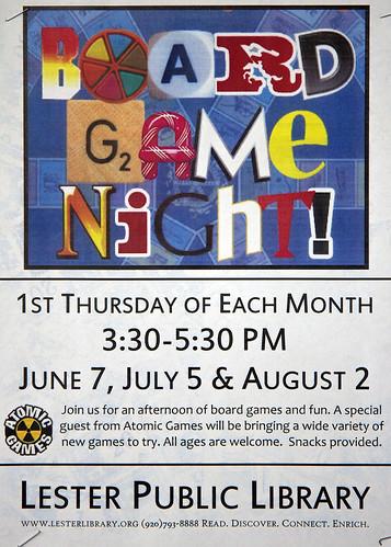 Board Game Night Logo Board Game Night