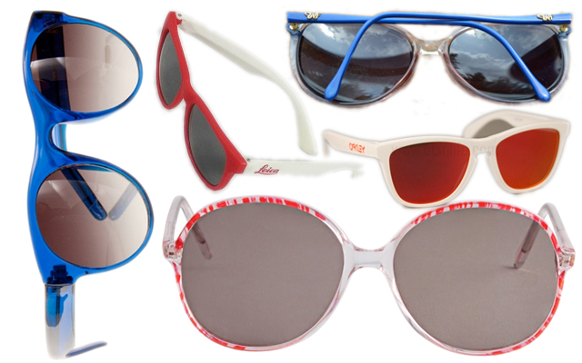 fair vanity, rachel mlinarchik, sunglasses, red white and blue, made in USA, fashion blog